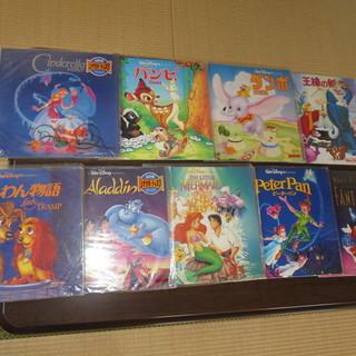 ディズ二ー各種LD.レーザーディスク9枚になります。DVDやブル...