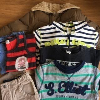 【ワンコイン!】男の子 90洋服セット