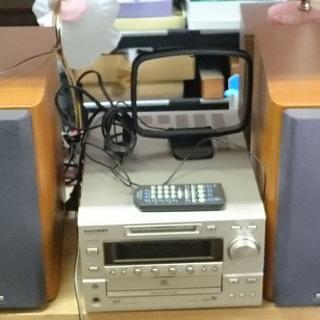 【中古】KENWOOD CD・MD オーディオ RD-HD7MD