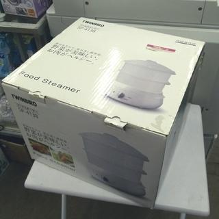 札幌 未使用 ツインバード工業 電気式 フードスチーマー SP-...