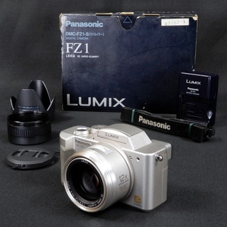 Panasonic LUMIX FZ1 (シルバー) DMC-FZ...