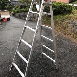 alinco はしご兼用脚立 中古