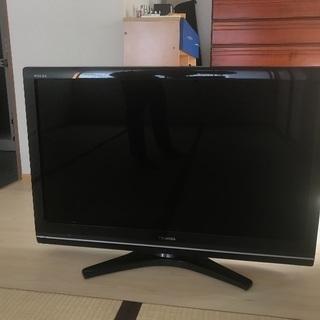 37V液晶テレビを譲ります。TOSHIBA REGZA