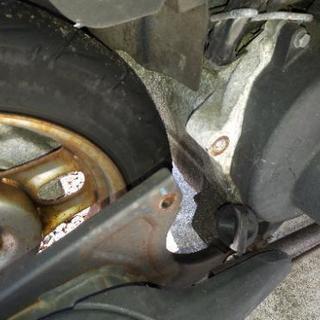 スクーター(ジャンク品)前タイヤ新品