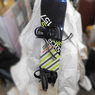 イグニオ SYCRONE 157cm スノーボード 板 バインデ...