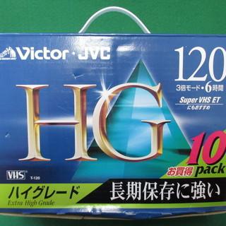 (I-1227) ビデオカセットテープ 10パック VHS 株)...