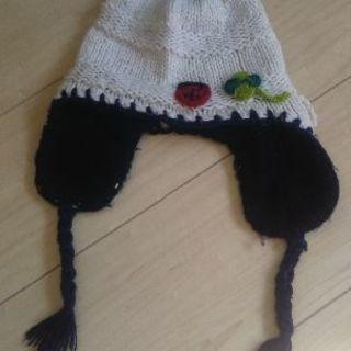 子供帽子・キッズ服・子供服・ニットぼうし・52㌢