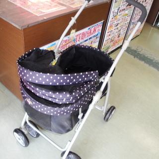 【磐田市見付】 ペット用キャリー 黒