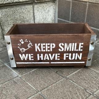 木製プランター*Smile*