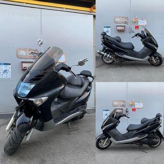 ♪マジェスティ125 FI 125cc マフラー改/清掃済み/配達...