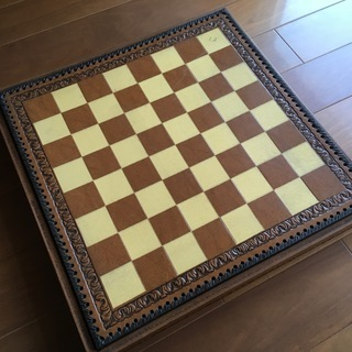 【チェスセット】大理石製駒