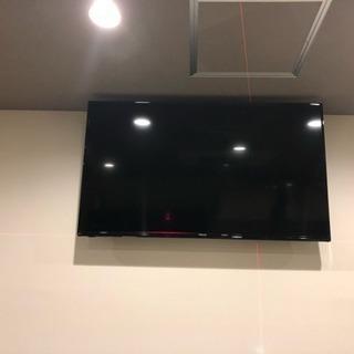 壁掛けテレビ取り付けます。店舗様必見です!