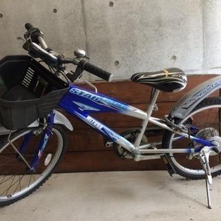 20インチの子供用自転車