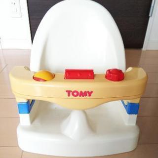 [商談中]!最終値下げ!TOMY ベビー バスチェア リクライニ...