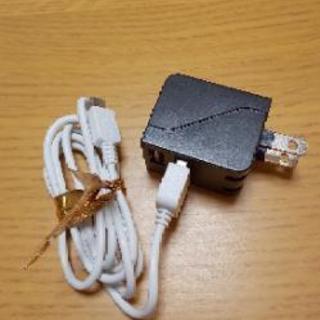 特価!数分のみ使用新品同様!スマホ高速充電器USB2ポート軽量コン...