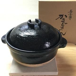 【美品】長谷園のかまどさん 一合炊