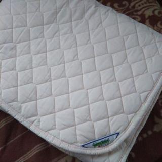 西川 ベッドパッド ダブルサイズ
