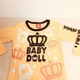 baby doll♡ハロウィンTシャツ90センチ♡