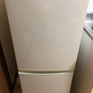 【無料】冷蔵庫 SHARP シャープ 137リットル 2ドア ホ...