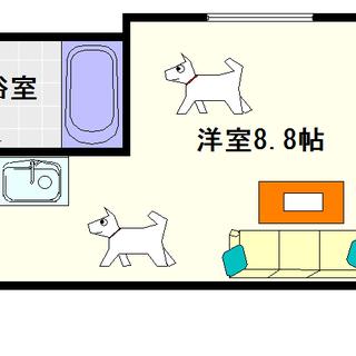 【ドュ・シンビオス桜川】1号タイプ!1LDKタイプ!ドッグラン付の...