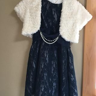 130 女の子 ドレス ファーベスト ※引き取りのみ