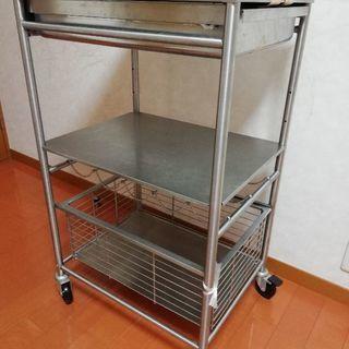 【引き取り限定】キッチンラック ス...