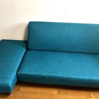 《終了》リクライニングソファーとオットマンのセット  お届け可能