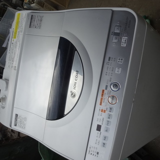 東342 シャープ全自動洗濯機 5...