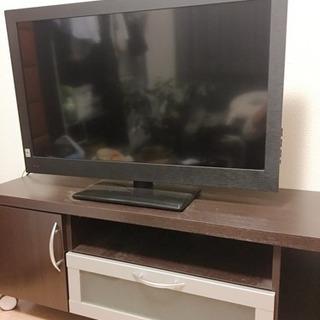 【値下げしました】テレビ&テレビ台 セット