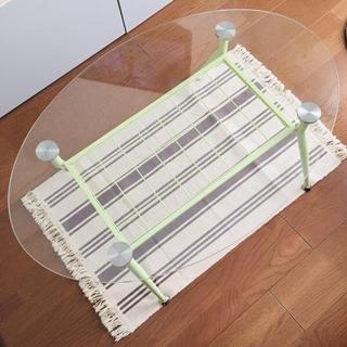 ラウンドガラステーブル