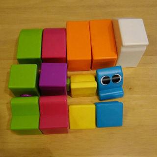 頭が良くなる、幼児用磁石知育玩具