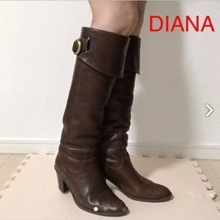 DIANA ロングブーツ(23.5cm)