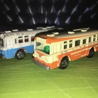 トミカ FUSO ワンバス2台セット(江ノ電バスと都営?バス)