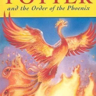 洋書Harry Potter and the Order of the Phoenixペーパーバックの画像
