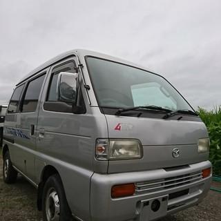 値引しきました!!!最終価格!!!平成10年式 軽バス エブリィバ...