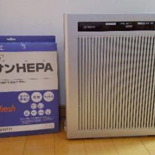 【完動美品】卓上タイプ 空気清浄機 エアーリフレ EH3711