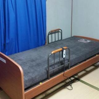 終了【大幅値下げ】【美品】ニトリ電動ベッド☆介護ベッド