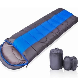 新品 寝袋 シュラフ 封筒型 定価9800円