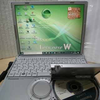 SSD搭載 DVDマルチ パナソニック レッツノート CF-W8