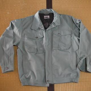 格安10円 半年着用 作業服 上のみ 男性用Lサイズ