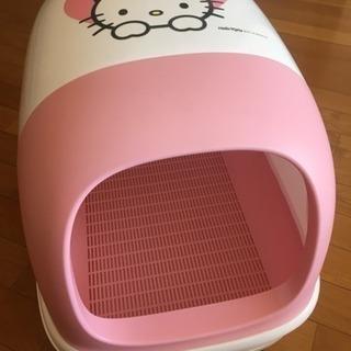猫用 システムトイレ キティちゃんデザイン