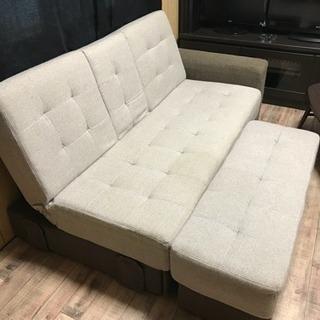 ❌売り切れ❌【ニトリ製】ソファー ベッド 収納付き オットマン1個