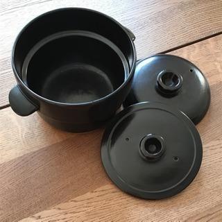 【無料】ご飯土鍋 三合用