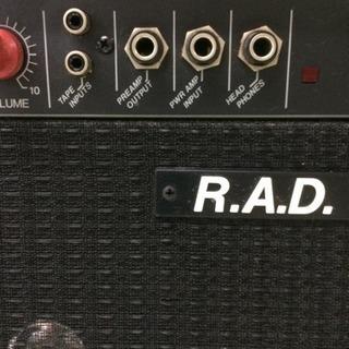 【再度値下げしました♪】フェンダーアンプ R.A.D.モデル (中古) - 楽器