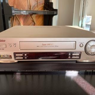希少 ビクター S -VHSビデオカセットレコーダー