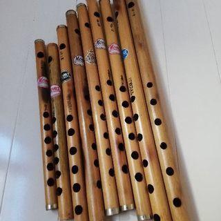(民族楽器)バンスリ 各種(横笛)