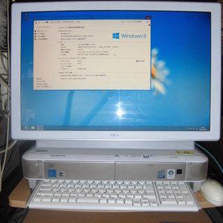 ディスクトップパソコン ウインドウズ8 正規OS付