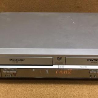 【DIGA】パナソニック   DVD/VHSレコーダー リモコン付❗️