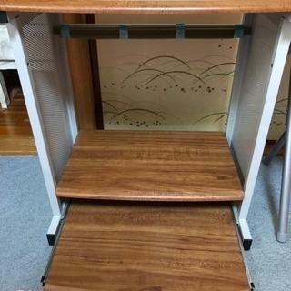 【値下げ】パソコンラック(机、台)