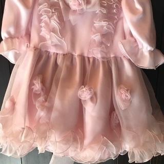 七五三 発表会ドレス1歳  薄いピンク色 値下げpaypay支払...